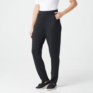 Denim & Co. Petite Heavenly Jersey Pants 3XP L874